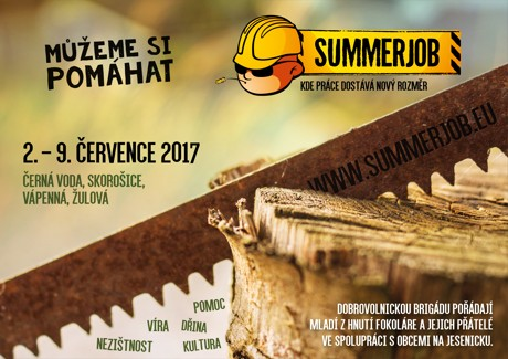 Plakát SummerJob 2017